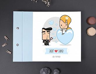 """Libro de firmas boda """"NUESTRO AMOR ESTÁ A TOPE"""""""