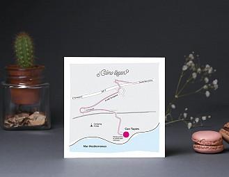 """Mapa de llegada """"COLORÍN COLORADO ESTE CUENTO HA EMPEZADO"""""""