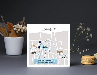 """Mapa de llegada """"CONTIGO HASTA EL FIN DEL MUNDO"""""""