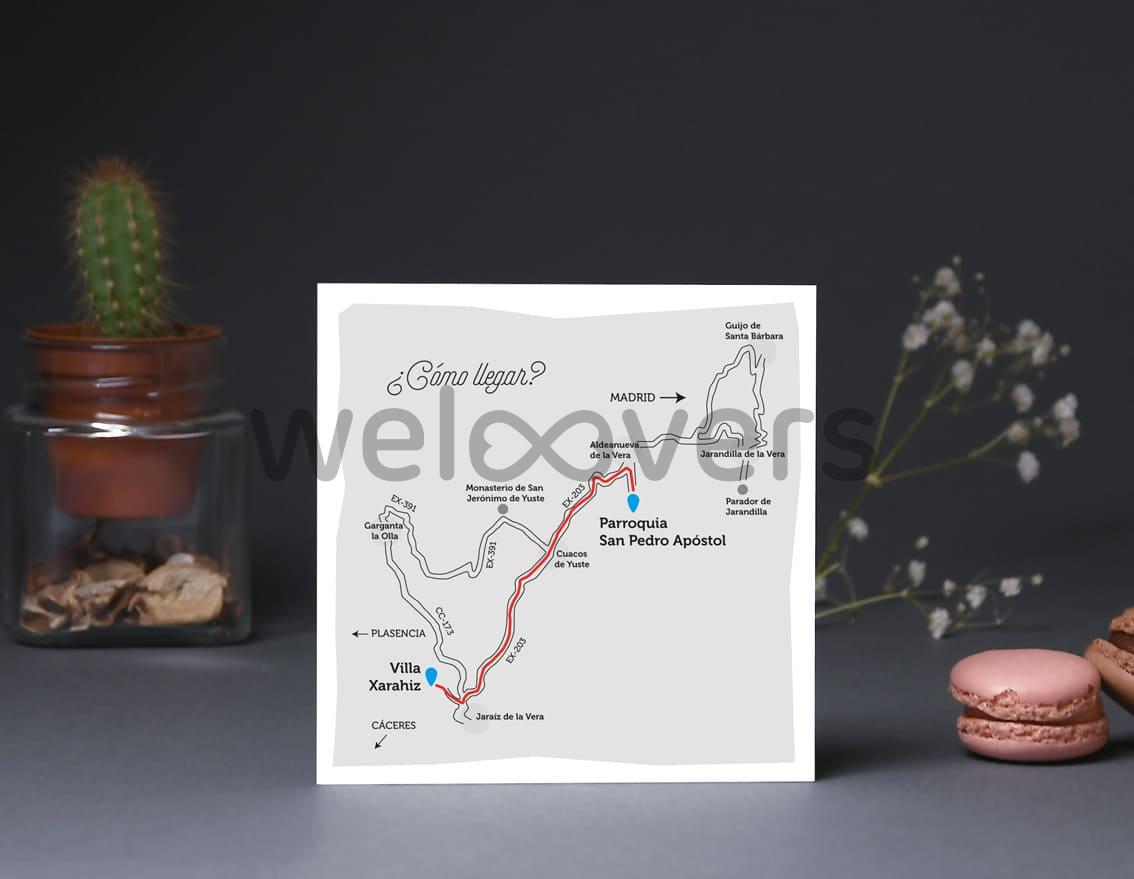"""Mapa de llegada """"EL VIAJE DE NUESTRAS VIDAS"""""""