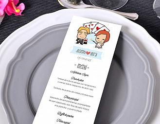 """Minuta de boda """"EL VIAJE DE NUESTRAS VIDAS"""""""