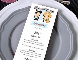 """Minuta de boda """"NUESTRA BODA SERÁ DE PELICULA"""""""