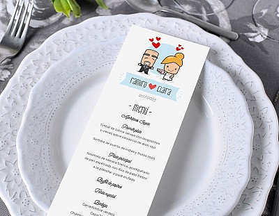 "Minuta de boda ""TÁRTAME BIEN"""